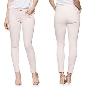 Paige Jeans Verdugo Ankle Faded Cotton Candy